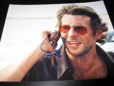 Bradley Cooper Signed Autograph 8x10 Hangover Promo In Person Coa Rare E