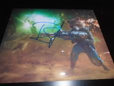BRADLEY COOPER SIGNED AUTOGRAPH 8x10 PHOTO GUARDIANS OF THE GALAXY 2 ACTION SHOT