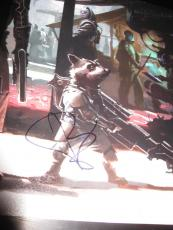 BRADLEY COOPER SIGNED AUTOGRAPH 8x10 PHOTO GUARDIANS OF THE GALAXY PROMO COA K