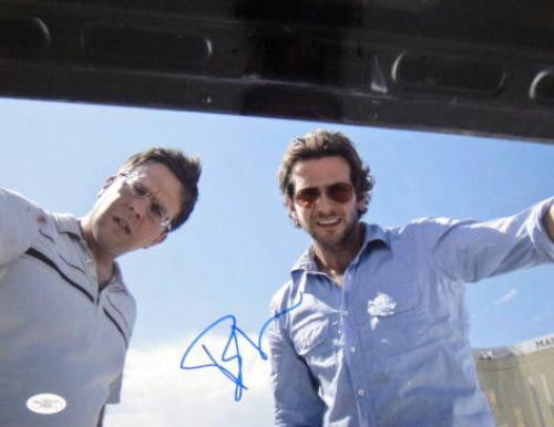 Bradley Cooper Signed HANGOVER 11X14 Photo JSA