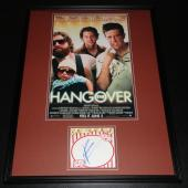 Bradley Cooper Signed Framed 18x24 Photo Poster Display The Hangover