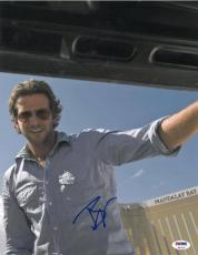 Bradley Cooper Signed Hangover Authentic Autographed 11x14 Photo PSA/DNA #T51434