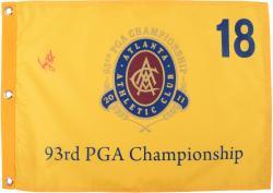 Keegan Bradley Autographed 2011 PGA Champ Golf Pin Flag