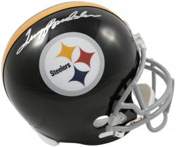 Terry Bradshaw Pittsburgh Steelers Autographed Riddell Replica Helmet
