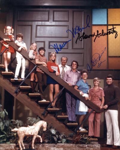 Brady Bunch Autographed 8x10 Photo