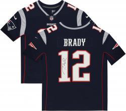 Tom Brady New England Patriots Autographed ProLine Navy Jersey