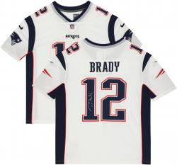 Tom Brady New England Patriots Autographed ProLine White Jersey