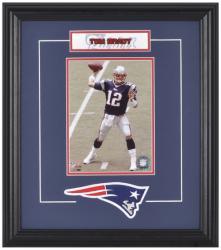 New England Patriots Tom Brady Framed Photo