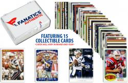 Tom Brady New England Patriots Collectible Lot of 15 NFL Trading Cards - Mounted Memories