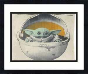 BRAND NEW OFFICIAL Star Wars Mandalorian The Child Baby Yoda 11x14 Squish Pillow
