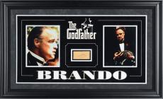 Marlon Brando Autographed Godfather Cut Collage