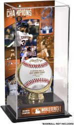 "Brandon Crawford San Francisco Giants 2014 World Series Champions Gold Glove 10"" x 5.5"" Baseball Display Case"