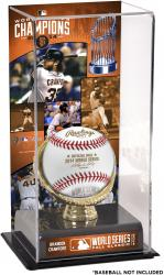 "Brandon Crawford San Francisco Giants 2014 World Series Champions Gold Glove 10"" x 5.5"" Baseball Display Case"