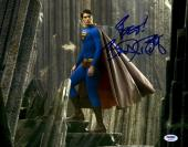 "Brandon Routh Autographed 11"" x 14"" Superman Photograph with Best! Inscription - PSA/DNA"