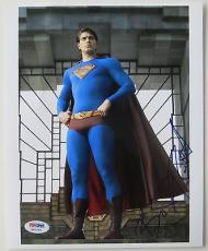 Brandon Routh Signed Superman Returns Authentic 8x10 Photo (PSA/DNA) #H81262
