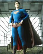 "BRANDON ROUTH ""SUPERMAN RETURN"" Signed 8x10 Color Photo"