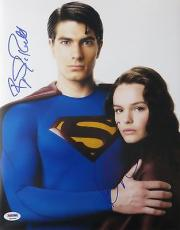 Brandon Routh/Kate Bosworth Signed Superman Authentic 11x14 Photo PSA/DNA K03448