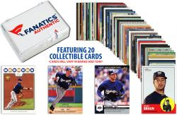 Ryan Braun Milwaukee Brewers Collectible Lot of 20 MLB Trading Cards - Mounted Memories