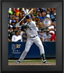 "Ryan Braun Milwaukee Brewers Framed 20"" x 24"" Gamebreaker Photograph with Game-Used Ball"
