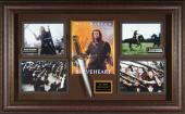 Braveheart Mel Gibson Autographed Framed Home Theater Displa