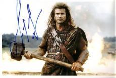 Mel Gibson Signed Braveheart 8x12 Photo