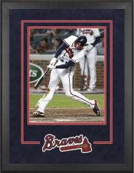 "Atlanta Braves Deluxe 16"" x 20"" Vertical Photograph Frame - Mounted Memories"