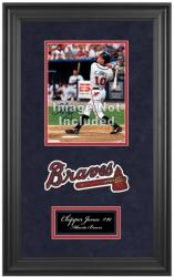 "Atlanta Braves Deluxe 8"" x 10"" Team Logo Frame - Mounted Memories"