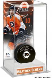 Brayden Schenn Philadelphia Flyers Deluxe Tall Hockey Puck Case