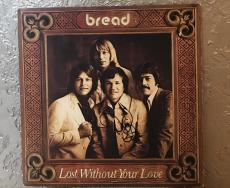 Bread Signed By David Gates  Lost Without Your Love Signed Vinyl Record  Album
