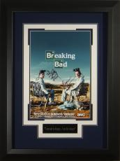 Breaking Bad Cast Signed 11x17 Poster Framed Display