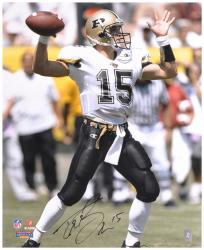 "Drew Brees Purdue Boilermakers Autographed 16"" x 20"" Photograph - Mounted Memories"