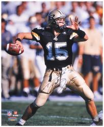 "Drew Brees Purdue Boilermakers Autographed 16"" x 20"" Photograph - - Mounted Memories"