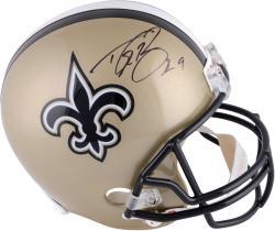 Drew Brees New Orleans Saints Autographed Riddell Replica Helmet -