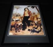 Brendan Fraser 1999 Framed 11x17 Photo Poster Display George of the Jungle