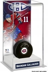 Brendan Gallagher Montreal Canadiens Deluxe Tall Hockey Puck Case