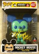 Bret Iwan Signed Autographed 10 Inch Mickey Mouse Funko Shop Pop Exclusive JSA