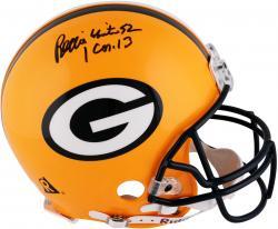 Brett Favre & Reggie White Green Bay Packers Autographed Authentic Riddell Pro Line Helmet -  PSA/DNA
