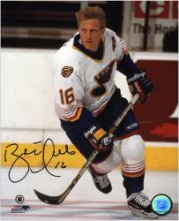"Brett Hull St. Louis Blues Autographed 8"" x 10"" Photograph"