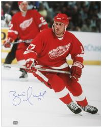 "Detroit Red Wings Brett Hull Autographed 16"" x 20"" Photo"