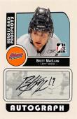 Brett MacLean autographed Hockey Card (Oshawa Generals) 2008 In the Game Prospects #ABML