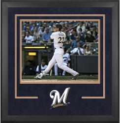 "Milwaukee Brewers Deluxe 16"" x 20"" Horizontal Photograph Frame"