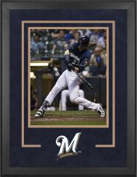 "Milwaukee Brewers Deluxe 16"" x 20"" Vertical Photograph Frame"