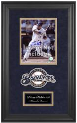 "Milwaukee Brewers Deluxe 8"" x 10"" Team Logo Frame - Mounted Memories"