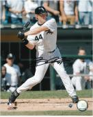 Brian Anderson Chicago White Sox Autographed 8'' x 10'' MLB Swinging Photograph - Mounted Memories
