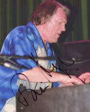 Brian Auger signed 8x10 Photo w/COA Rock N Roll Jazz Pianist Jimi Hendrix