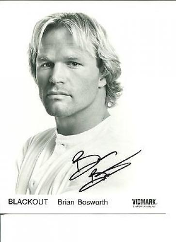 Brian Bosworth Autographed Photograph
