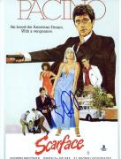 "Brian DePalma Autographed 8"" x 10"" Scarface Cover Photograph - Beckett COA"