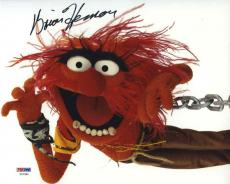 Brian Henson Animal Muppets Autographed Signed 8x10 Photo Certified PSA/DNA COA