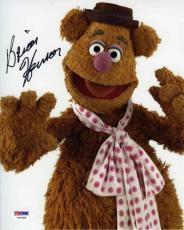 Brian Henson Fozzie Bear Muppets Autographed Signed 8x10 Photo Certified PSA/DNA