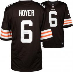 Brian Hoyer Cleveland Browns Autographed Brown Jersey